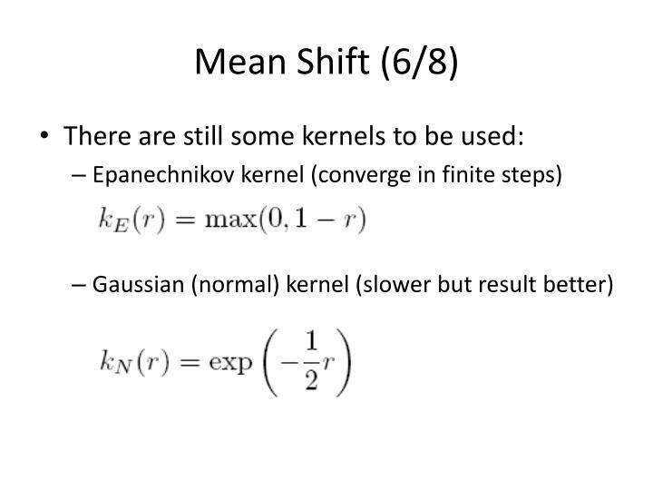 Mean Shift (6/8)