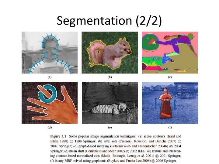 Segmentation (2/2)