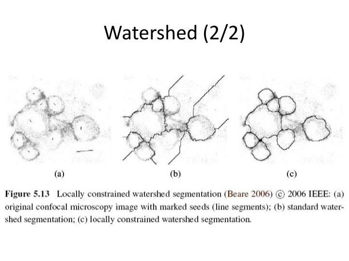 Watershed (2/2)