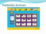 pebblego animals