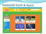pebblego earth space
