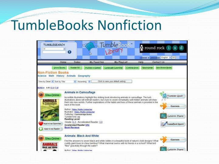 TumbleBooks Nonfiction