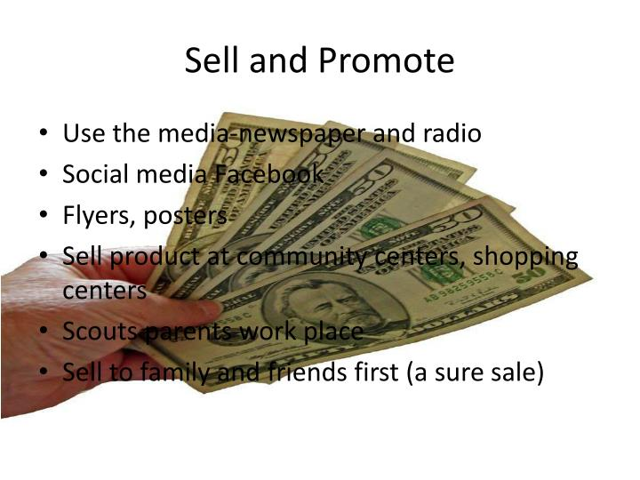 Sell and Promote