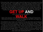 get up and walk