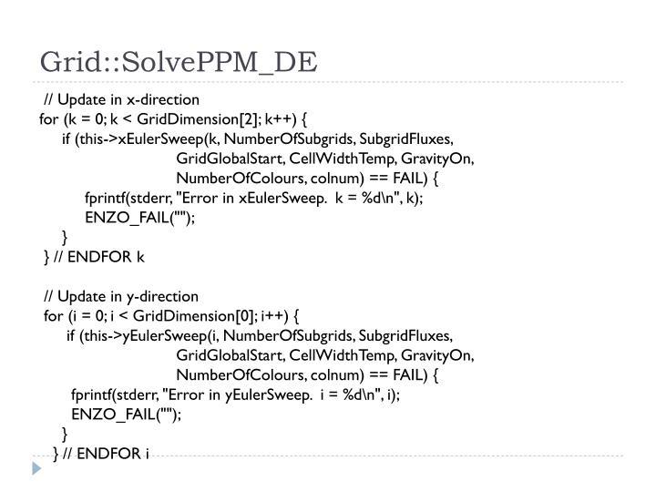 Grid::SolvePPM_DE