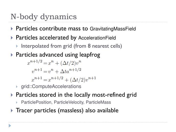 N-body dynamics