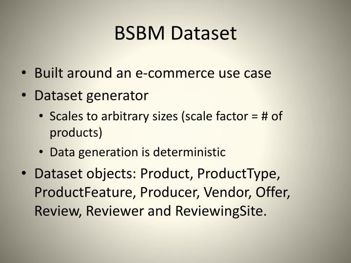 BSBM Dataset