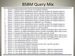 bsbm query mix1
