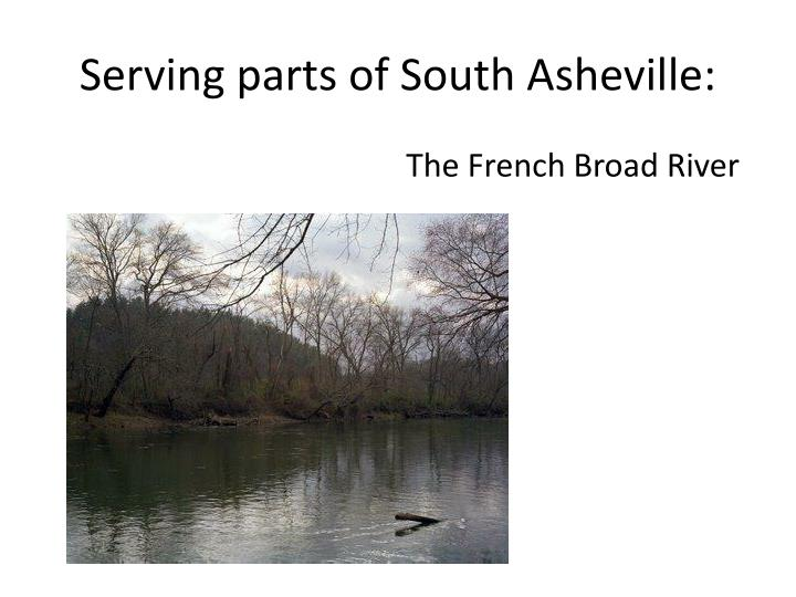 Serving parts of south asheville