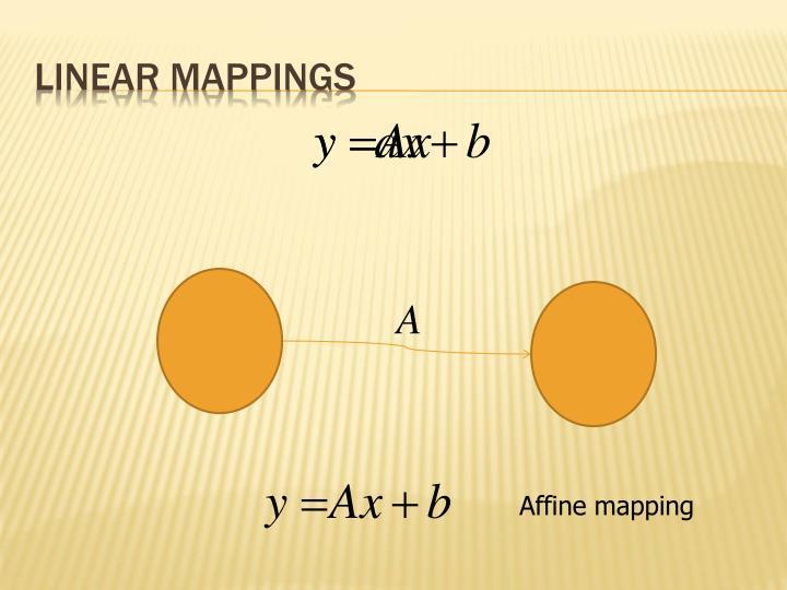 Linear Mappings