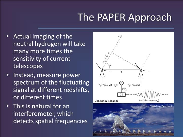 The PAPER Approach