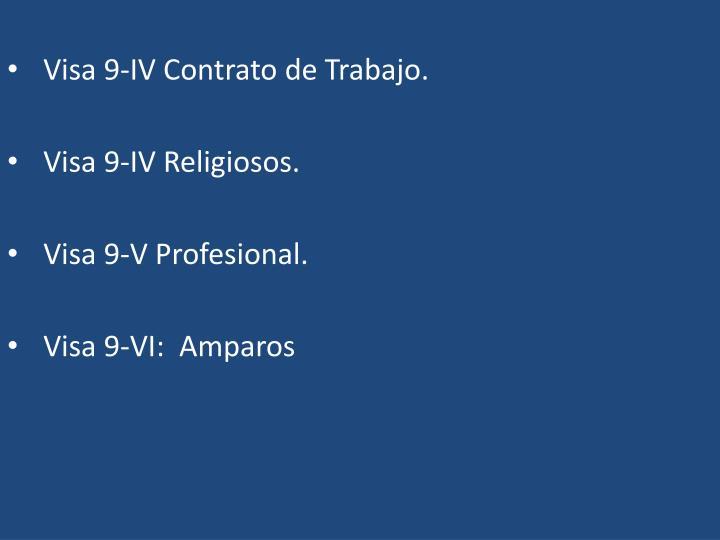 Visa 9-IV