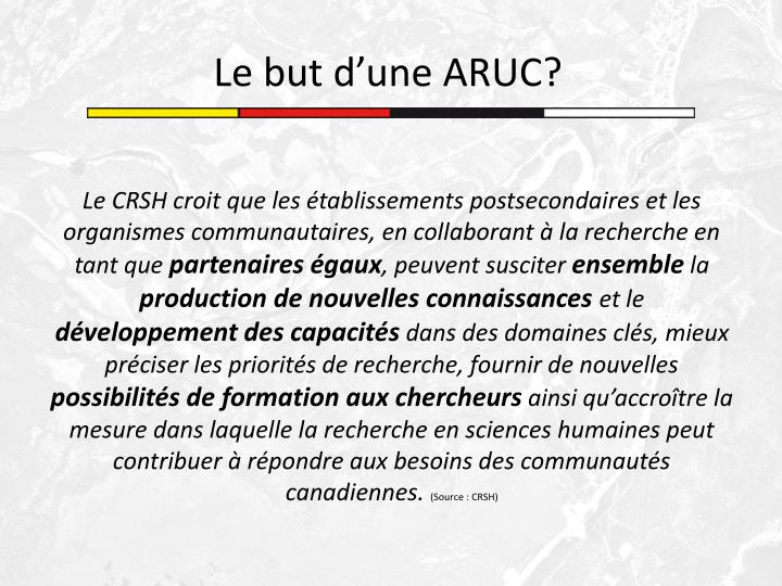 Le CRSH croit que les établissements postsecondaires et les organismes communautaires, en collaborant à la recherche en tant que