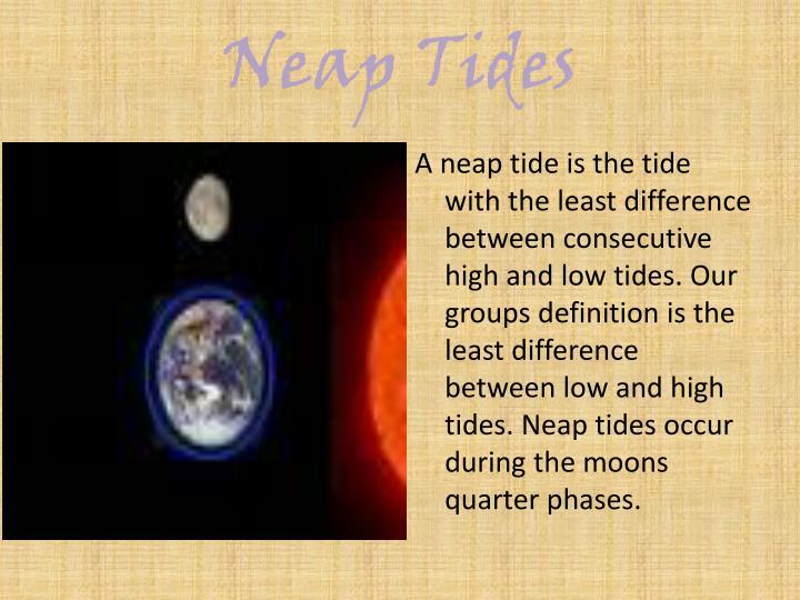 Neap Tides