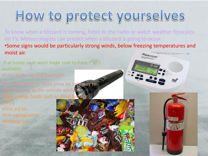 How to protect yourselves
