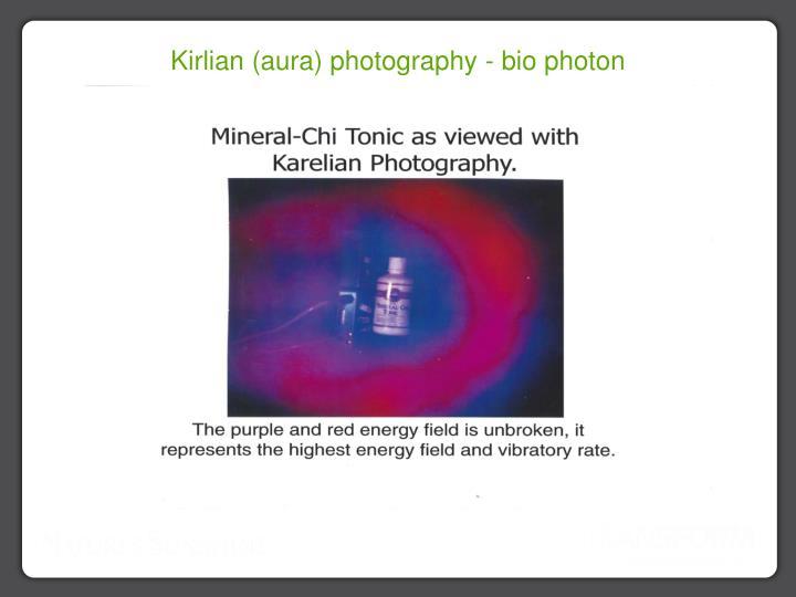 Kirlian (aura) photography - bio photon