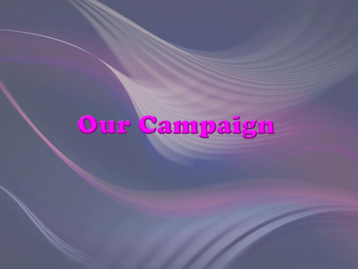 Our Campaign