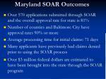 maryland soar outcomes