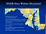 soar sites within maryland