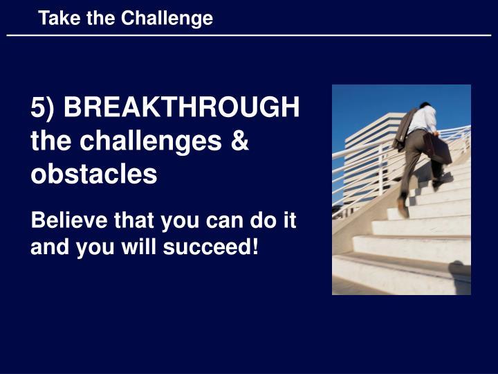 Take the Challenge