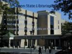 penn state libraries