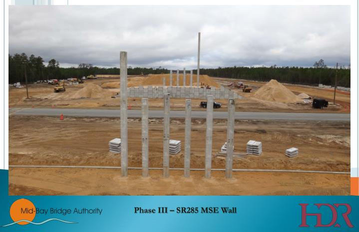 Phase III – SR285 MSE Wall