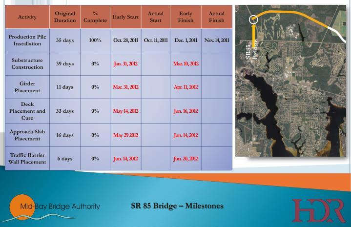 SR85 Bridge