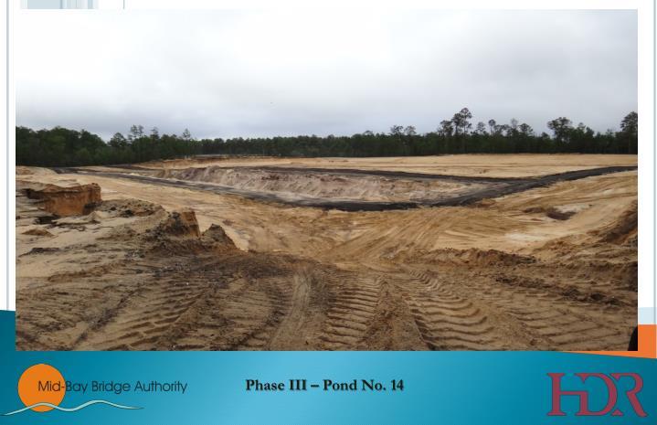 Phase III – Pond No. 14