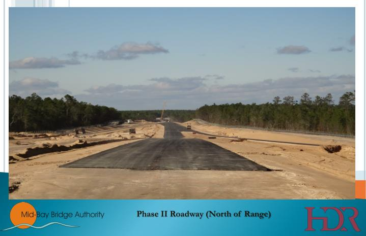 Phase II Roadway (North of Range)