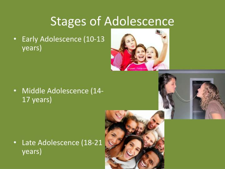 Stages of Adolescence