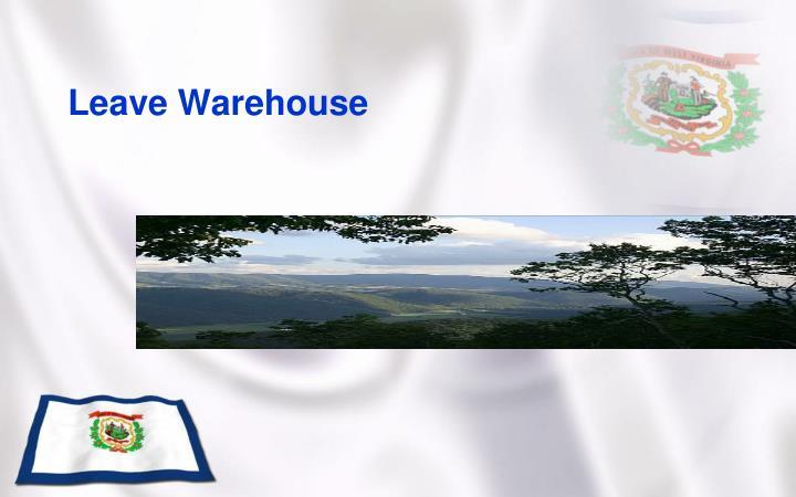 Leave Warehouse
