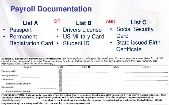 Payroll Documentation