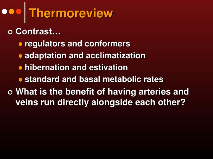 Thermoreview
