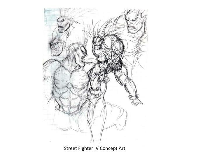 Street Fighter IV Concept Art