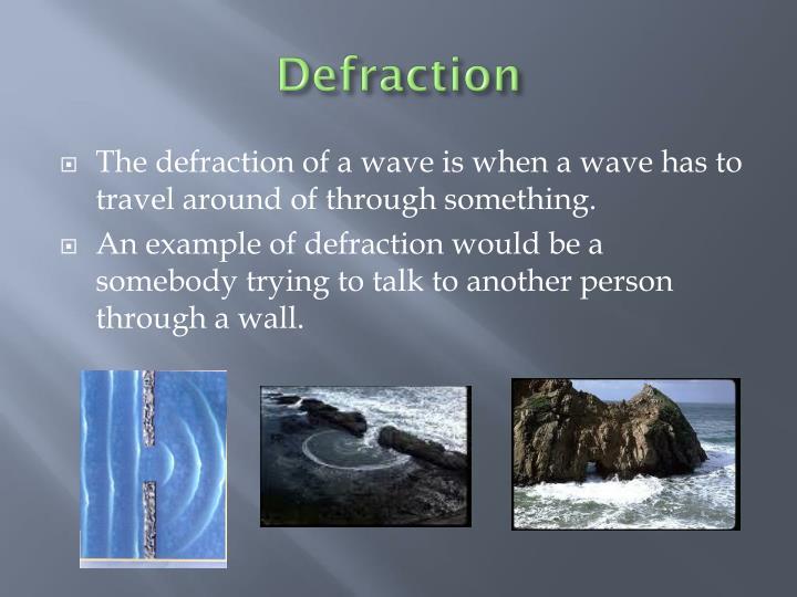 Defraction