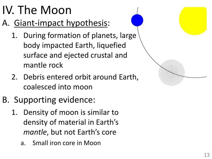 IV. The Moon