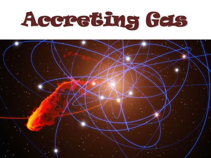 Accreting Gas