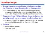 standby charges1