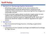 tariff policy1