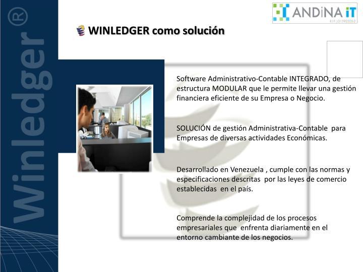 WINLEDGER como solución
