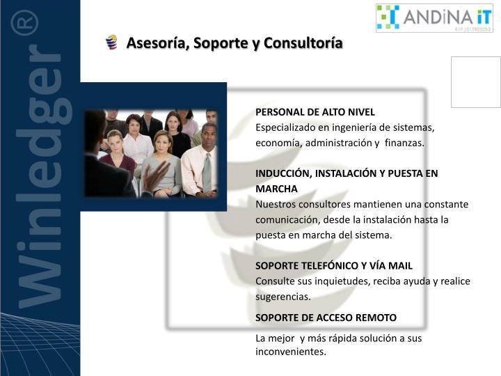 Asesoría, Soporte y Consultoría