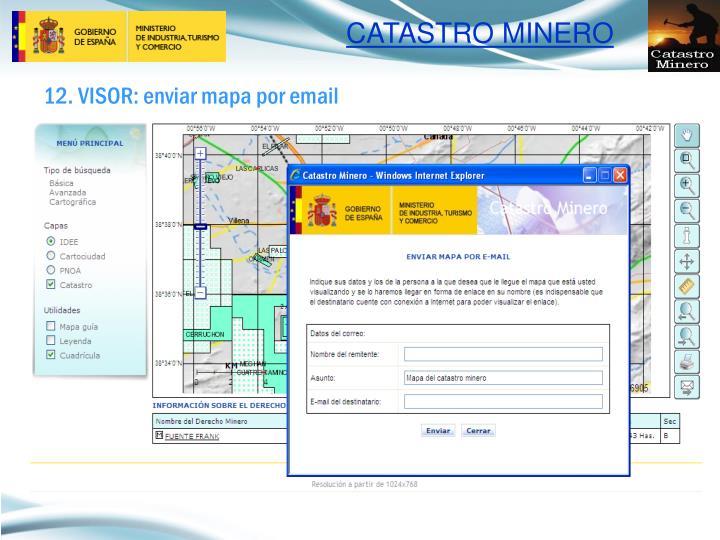 12. VISOR: enviar mapa por email