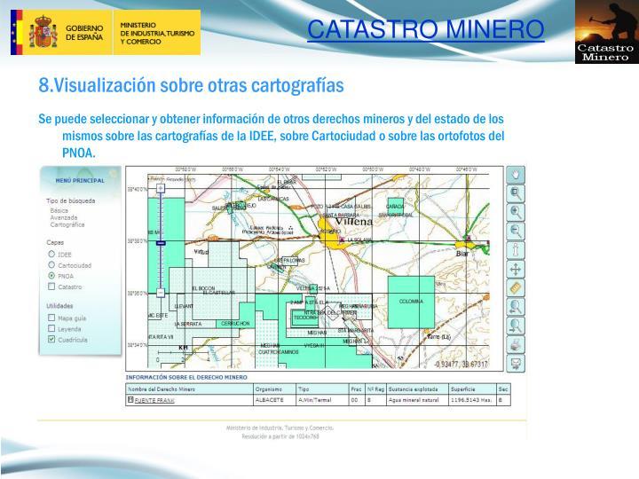 8.Visualización sobre otras cartografías