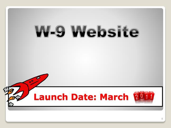 W-9 Website