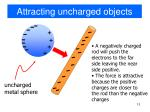 attracting uncharged objects