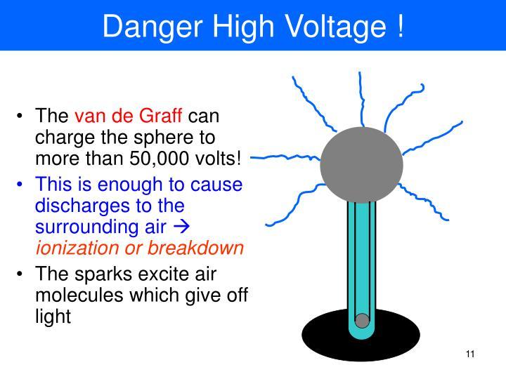 Danger High Voltage !