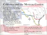 california and the mexican cession