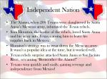 independent nation