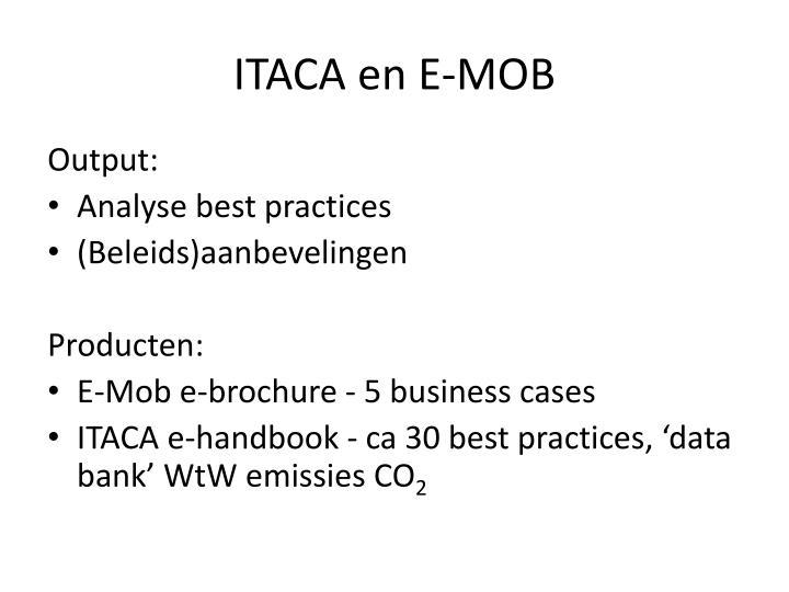 ITACA en E-MOB