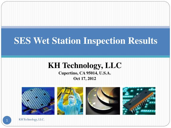 SES Wet Station Inspection Results